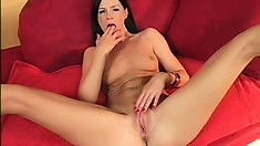 Heartbraker India Summer loves to feel some hot spunk in her muff