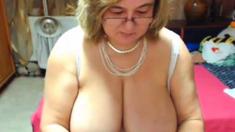 big tit mature with a nice big ass